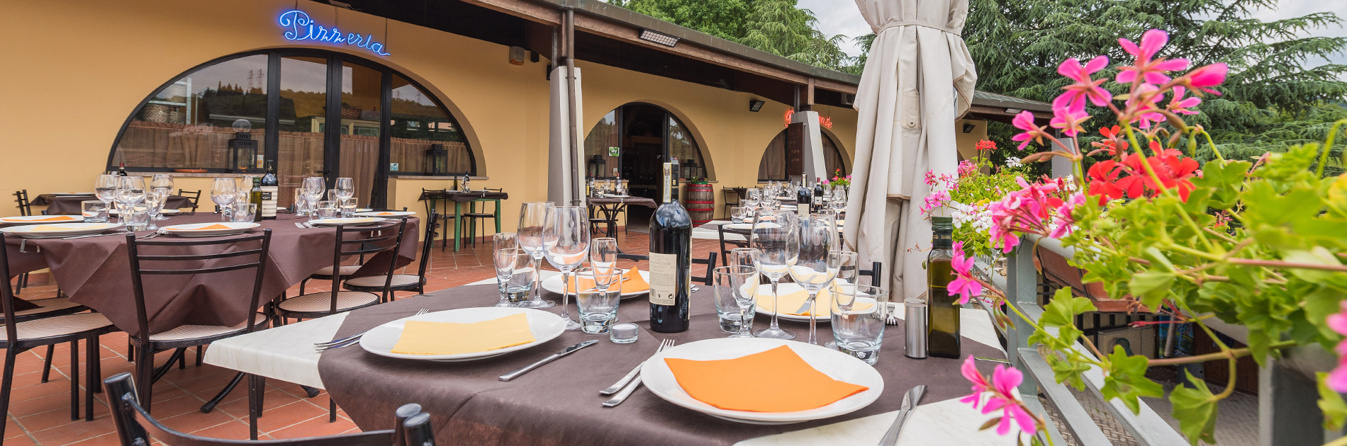 Camping Il Poggetto - Pizzarestaurant
